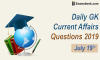 Daily-GK-Current-Affairs-Questions-2019-July-19th