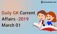 Daily-GK-Current-Affairs-2019-March-01