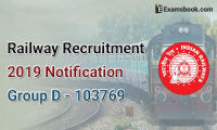 railway recruitment 2019 notification group d