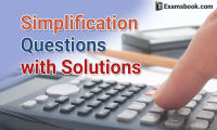 simplification questions with solutions
