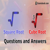 square root questions & Cube root