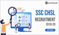 ssc chsl recruitment 2019-20