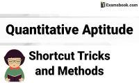 quantitative aptitude shortcut tricks
