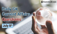 Daily-GK-Current-AffairsQuestions-July-8th