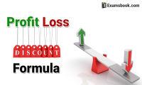 profit loss and discount formula