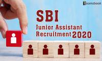sbi junior assistant recruitment 2020