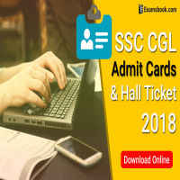 SSC CGL Admit Card and Exam Hall Ticket