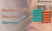 number coding decoding questions