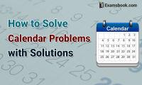 how to solve calendar problems