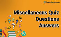 miscellaneous quiz questions answers