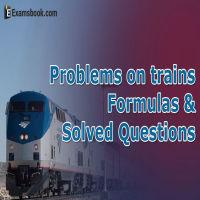 train problem formula