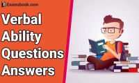 Verbal Ability Questions