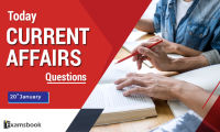 20 jan Today Current Affairs Questions