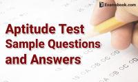 aptitude test sample questions