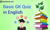 Basic GK Quiz