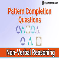 pattern completion questions