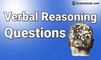 Verbal Reasoning Questions