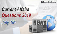 Current-Affairs-Questions-2019-July-16th