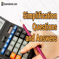 Simplification questions