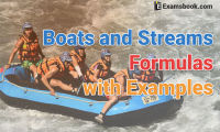 boats and streams formuals with examples