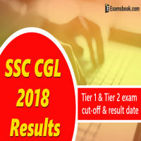 SSC CGL Results 2018