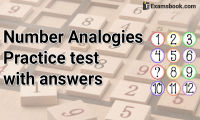 number analogies practice test with answers