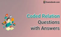 coded relation questions