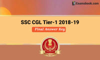 ssc cgl tier 1 final answer key