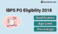 IBPS PO 2018 Eligibility