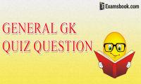 General GK Quiz