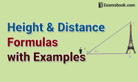 height and distance formulas