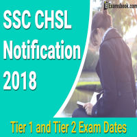 SSC CHSL Exam Date Naotification