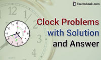 clock problems with solution and answers
