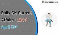 Daily-GK-Current-Affairs-2019-April-23rd