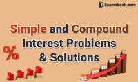 simple and compound interest problems solutions