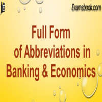 economics abbreviations