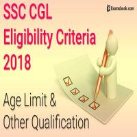 SSC CGL eligibility criteria
