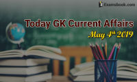 Today-GK-Current-Affairs-2019-May-4th