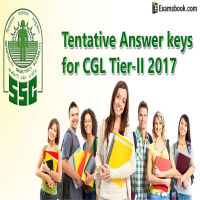 SSC CGL Tier II result 2017