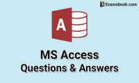 ms access questions and answers