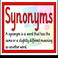 Synonyms questions with answers