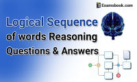 Logical sequence of words questions