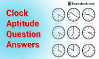 Clock aptitude questions