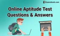 Aptitude test questions
