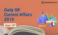 Daily-GK-Current-Affairs-2019-June-14th