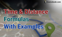 time and distance formula with examples
