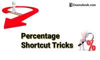 Percentage Shortcut Tricks