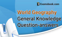 World Geography Questions