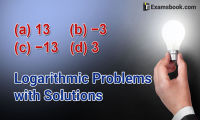 logarithm problems with solutions
