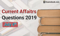Current-Affairs-Questions-2019-July-4th